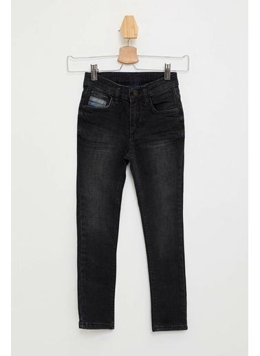 DeFacto Slim Fit Jean Pantolon Siyah
